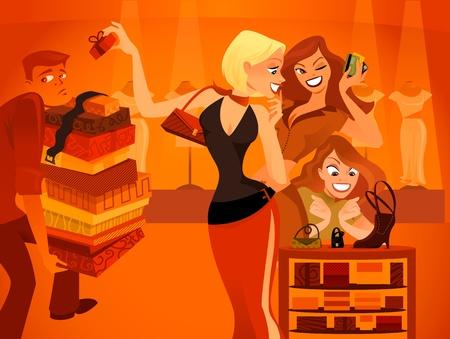 Fashionistas Illustration