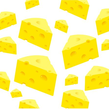 Background from realistic slices cheese.
