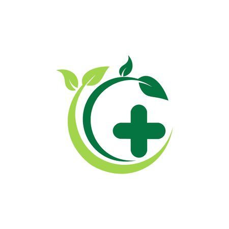 Healthy food banner icon.