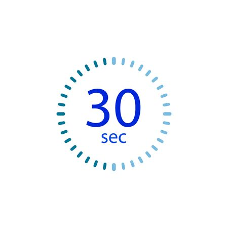 Stopwatch icon for 30 seconds.