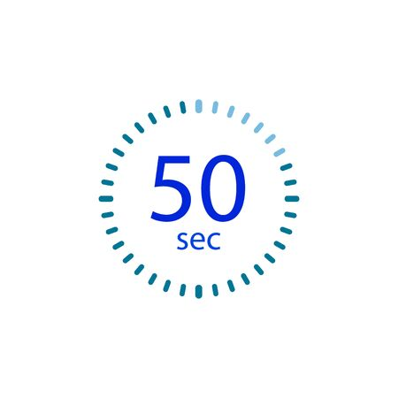 Stopwatch icon for 50 seconds.