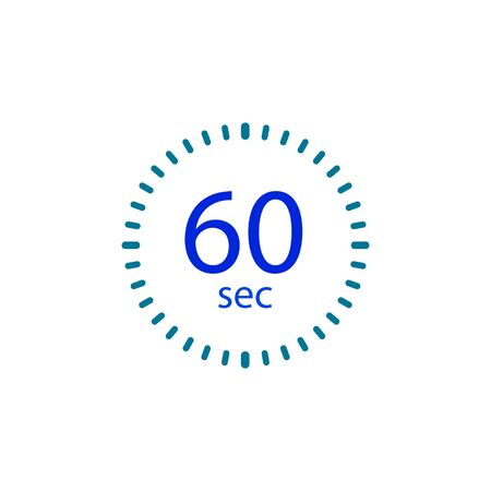 Stopwatch icon for 60 seconds.