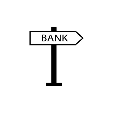 bank sign signal icon. Vectores