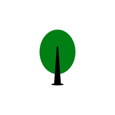 Tree black sign icon. Vector illustration eps 10.  イラスト・ベクター素材