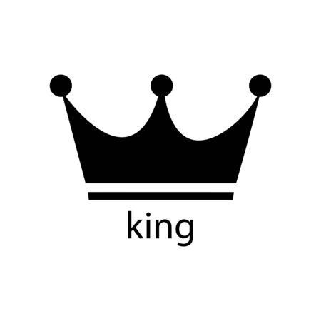 Premium sign crown icon. Vector illustration Vectores