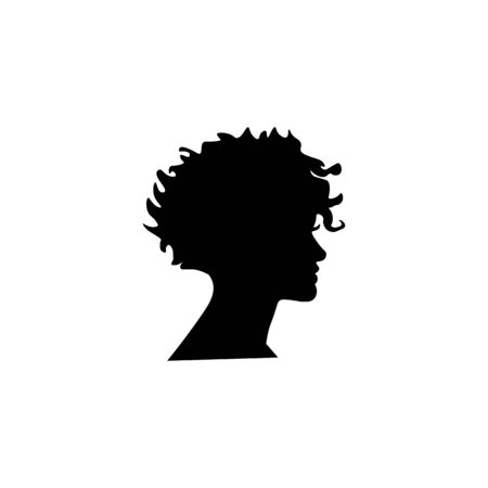 Woman black sign icon. Vector illustration eps 10.