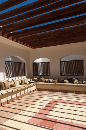 seating area: Seating Area with Sofas and cushions, Egypt