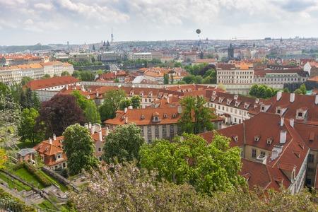 Aerial view over Old Town, Prague, Czech Republic Reklamní fotografie