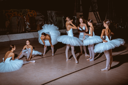 behind the scenes: The seven ballerinas behind the scenes of the theater