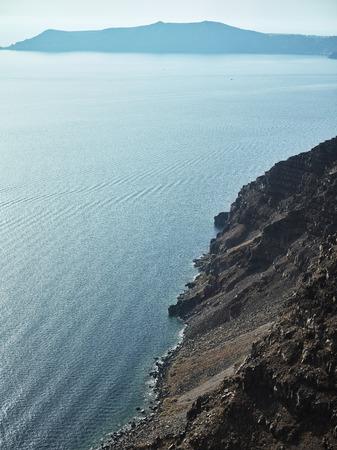 Caldera of Santorini island. Greece Stock Photo