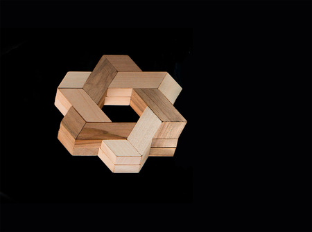 interesting: The wooden puzzle - game with blocks