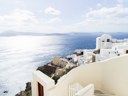Landscape Santorini Island, 피라, 그리스