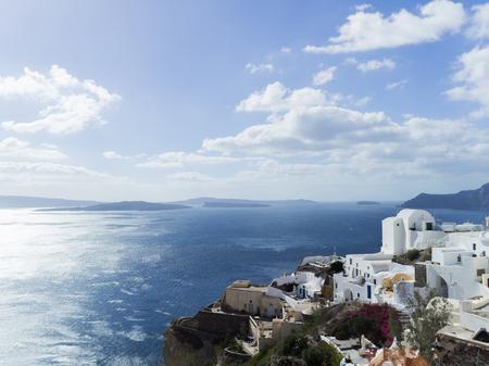 Landscape Santorini Island, Fira, , Greece