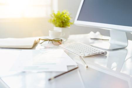 le bureau de bureau abstrait