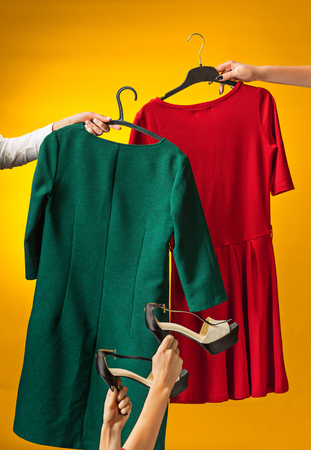 Textile, design, clothing, fashion concept.