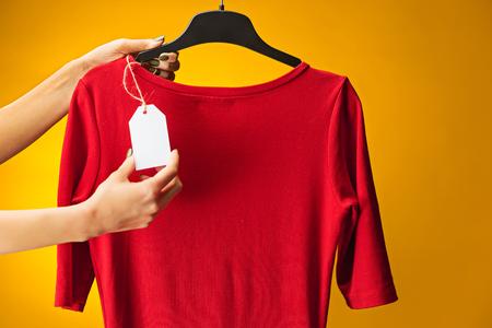 Tekstylia, projektowanie, odzież, koncepcja mody. Zdjęcie Seryjne