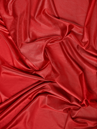 red abstract cloth, fabric background and texture, curtain theater