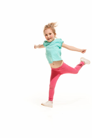 The kids dance school, ballet, hiphop, street, funky and modern dancers Banque d'images - 100591740