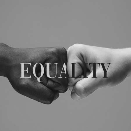Bump. African and caucasian hands gesturing on gray studio background. Tolerance and equality, unity, support, kindly coexistence together concept. Worldwide multiracial community.