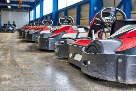 Garage Full of Go Karts