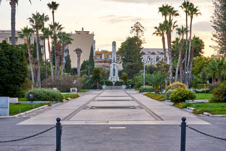 Piazza Vittorio Emanuele - Victor Immanuel Square Taken at Sunset