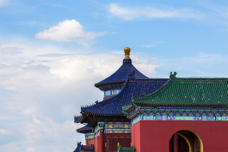 temple of heaven: The temple of heaven in forbidden city