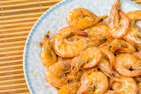 aquatic products: Braised shrimp