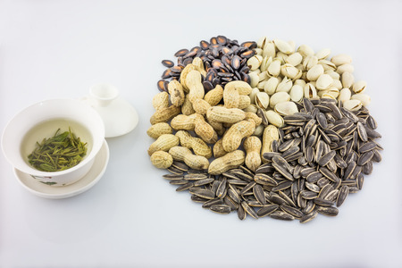 large group of objects: Nut Stock Photo