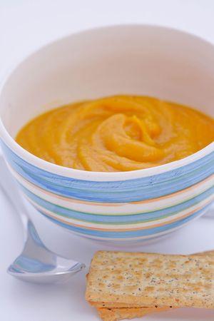 butternut: Butternut squash soup