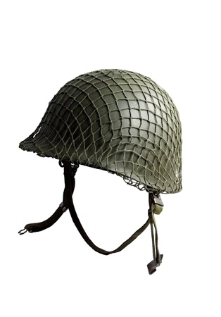 helmet US army WW II Banco de Imagens