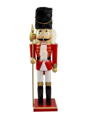 the nutcracker: painted wood toy Nutkracker