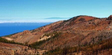 oxigen: National park Teide, mountain, Tenerife, Canarian Islands