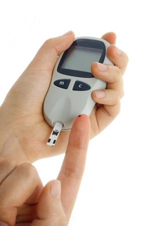 self exam: Blood sugar test