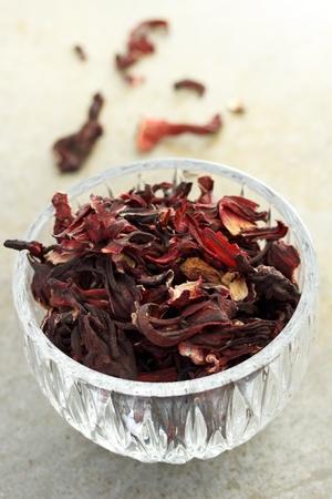 calyxes: Dried hibiscus tea