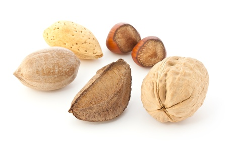 Mixed Nuts in the Shell photo