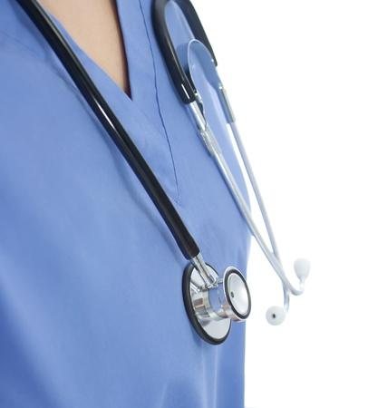 Stethoscope and Scrub photo