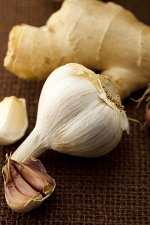 Garlic and ginger Stock Photo - 10961018