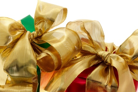 Red and green gift boxes Stock Photo - 11028580