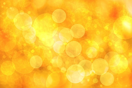 Abstract orange color bokeh circle lights background     photo