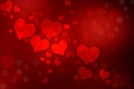 Valentijn grunge hartvormige lampjes achtergrond