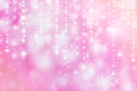 Pink colored image of abstract lights background