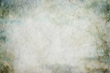 japanese paper: vintage texture background - green and gray