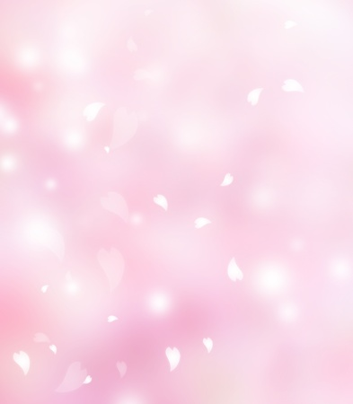 softness: Pink flower petals background