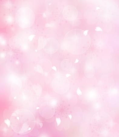 боке: Розовые лепестки цветов фона
