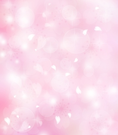 pink hearts: Pink flower petals background
