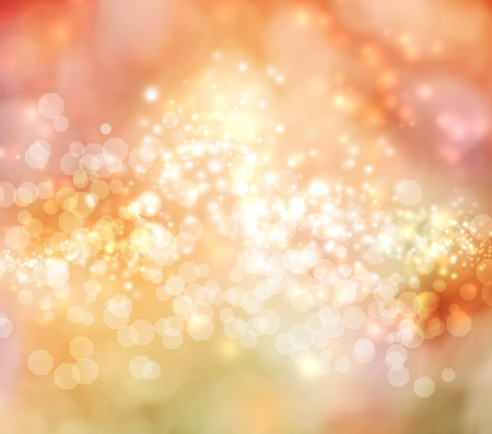 Pink and Orange Colored Abstract Lights Background Stock Photo - 15702627