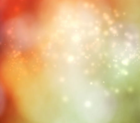 Abstract light background - orange and green Stock Photo - 15870470