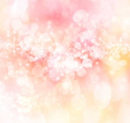 Light Colored Abstract Lights Background  photo