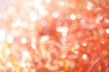 Red-Orange-Yellow Bokeh Lights Background Stok Fotoğraf
