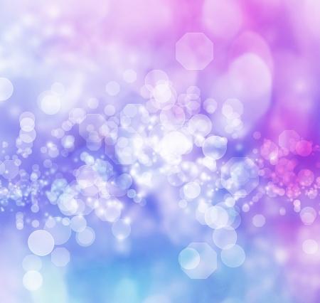 estrellas moradas: Color azul y p�rpura resumen luces de fondo